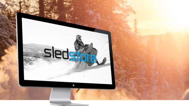 Sledstore responsive site